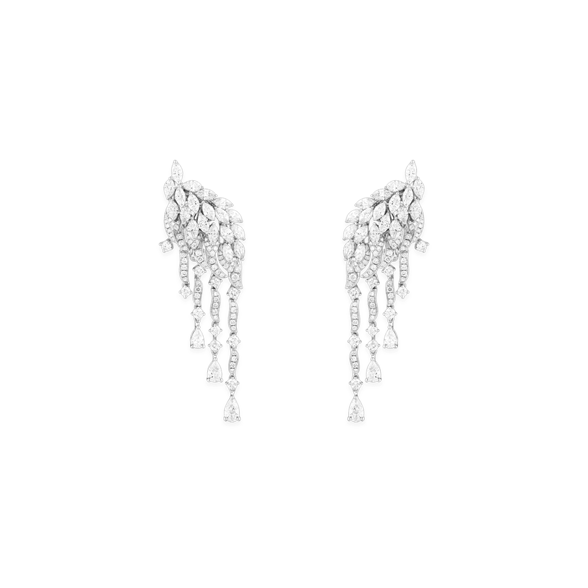 Sartoro Falcon Earrings FALC-E2WG