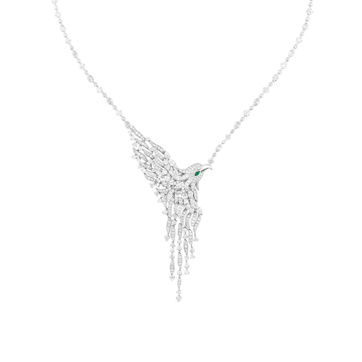 Sartoro Falcon Necklace FALC-N1WG