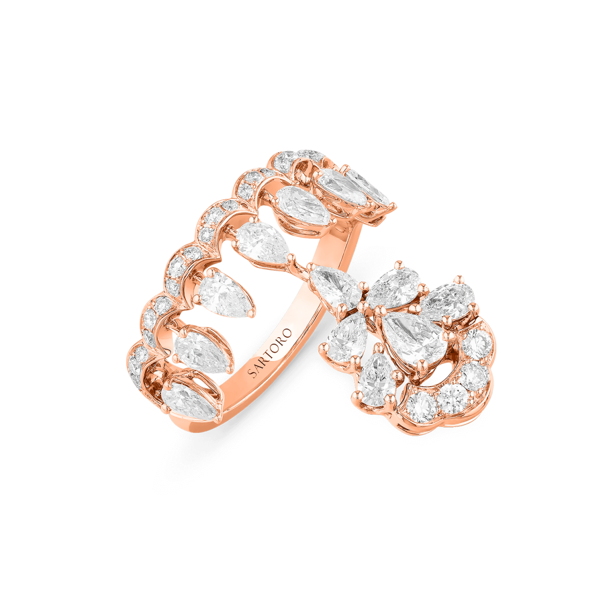 Gaia Bloom Signature Ring