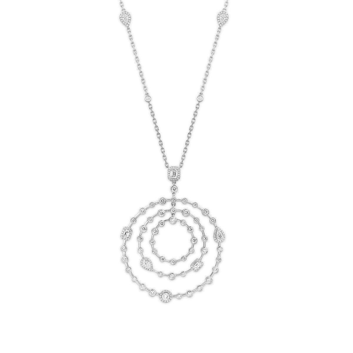 HAPPY Diamond Pendant