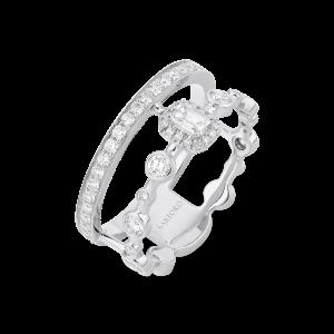 HAPPY Ring with Emerald-Cut Diamond