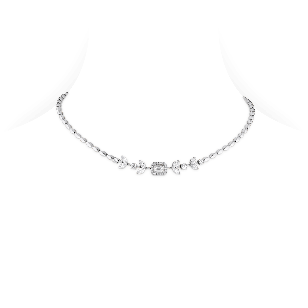 Sartoro SERA Necklace SERA-N4WG