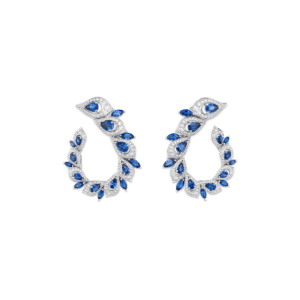 Sartoro PEACOCK Earrings PEAC-E1WGBS