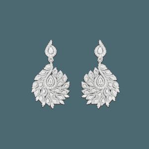 Sartoro PEACOCK Earrings PEAC-E4WG