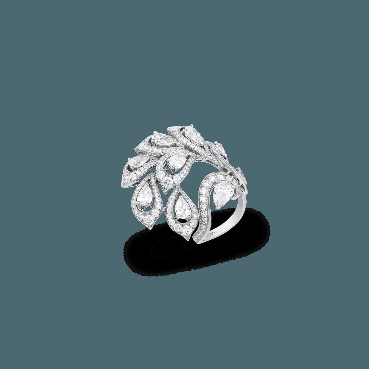 Sartoro PEACOCK Ring PEAC-R1WG