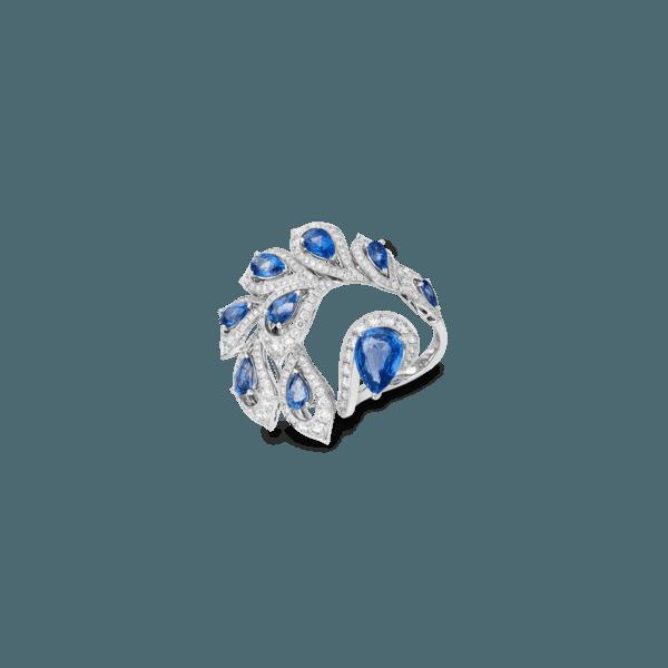 Sartoro PEACOCK Ring PEAC-R1WGBS