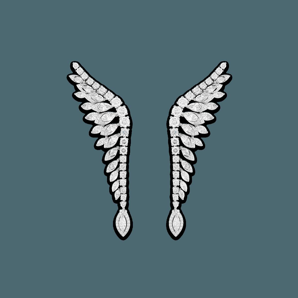 Sartoro PLUME Earrings PLUM-E4WG