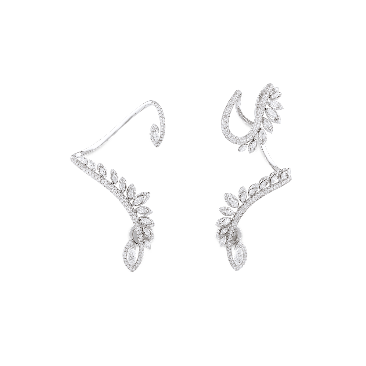 Sartoro PLUME Earrings PLUM-E6WG