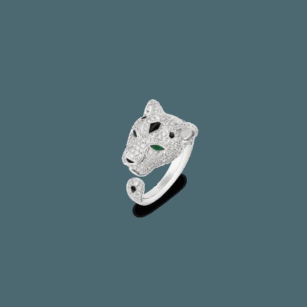 Sartoro FAUNA - SNOW LEOPARD Ring SLEO-R2WGEMON