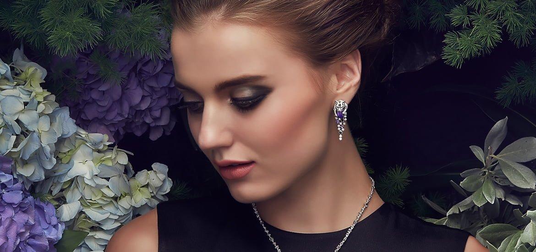 Sartoro FAUNA - SNOW LEOPARD High Jewelry