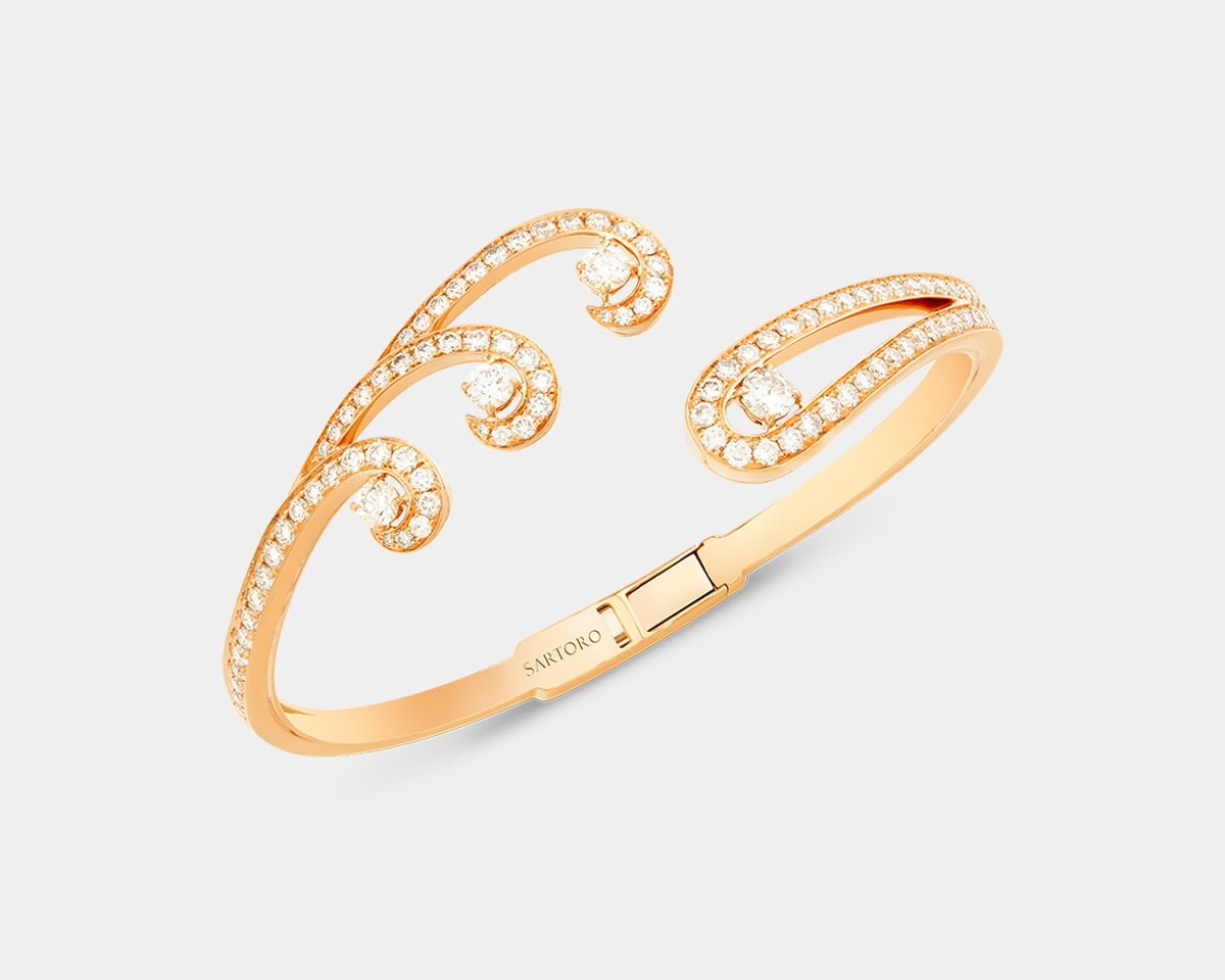 Sartoro-Jewelry-Venus-Rose-Gold-Bracelet-4-