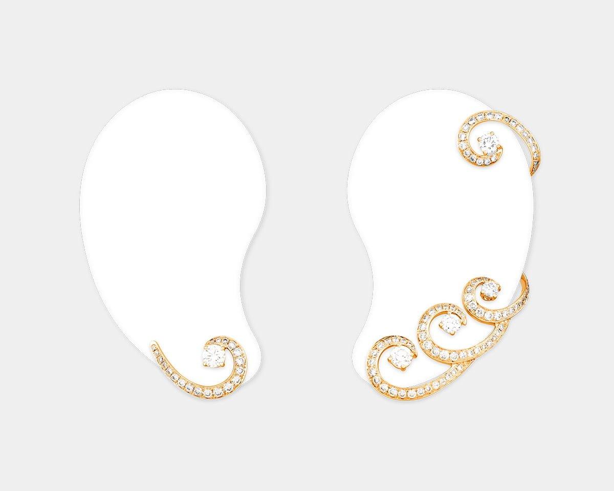 Sartoro-Jewelry-Venus-Rose-Gold-Earring-411-3-
