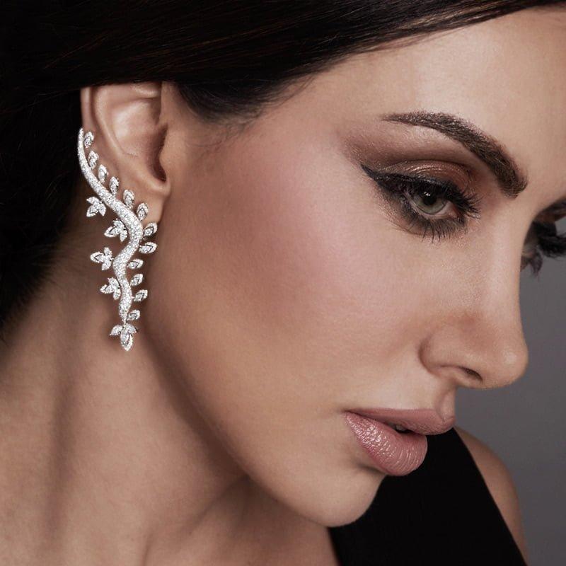 Sartoro-jewelry-Gaia-Bloom-earrings-Model